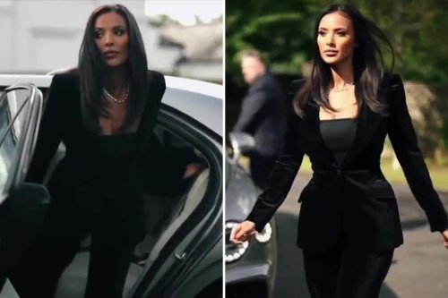 Watch as Maya Jama is introduced as Matchroom and DAZN boxing host