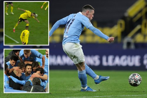Borussia Dortmund 1 Man City 2 (2-4): Foden thunderbolt caps comeback after Bellingham threatened Pep's Quadruple dream