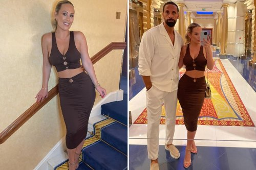 Kate Ferdinand reveals step-children's cheeky swipe at her and husband Rio