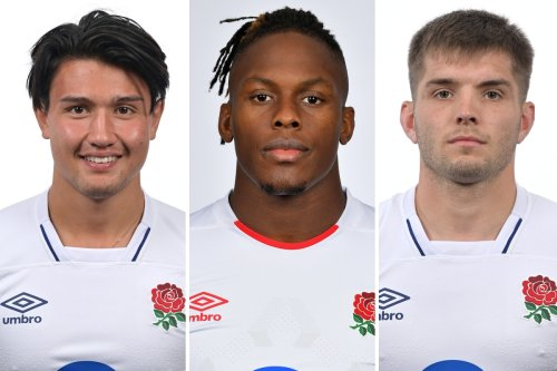 Our England team for the Autumn series against Tonga, Australia and South Africa
