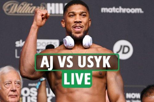 Anthony Joshua vs Oleksandr Usyk LIVE RESULTS: UK start time, TV channel, live stream, undercard for TONIGHT'S fight