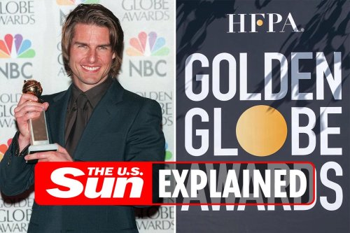 Why did Tom Cruise return his three Golden Globe trophies?