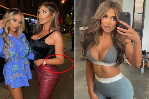 Chloe Ferry accused of ANOTHER photoshop fail as fans spot 'wonky pavement'