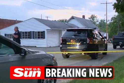 Three killed in apartment and two outside building in Ohio suburb mass shooting
