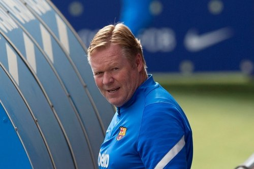 Koeman reads statement at press-conference then LEAVES without taking questions