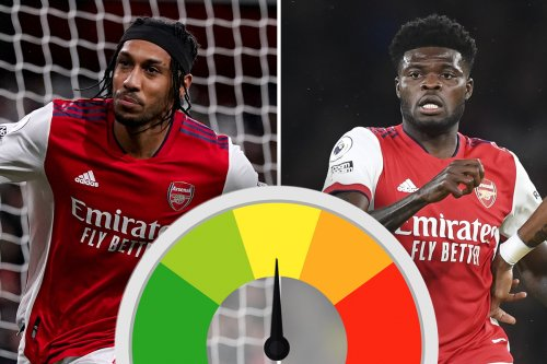 Arsenal ratings: Partey hands Vieira gift as Aubameyang scores in Palace draw