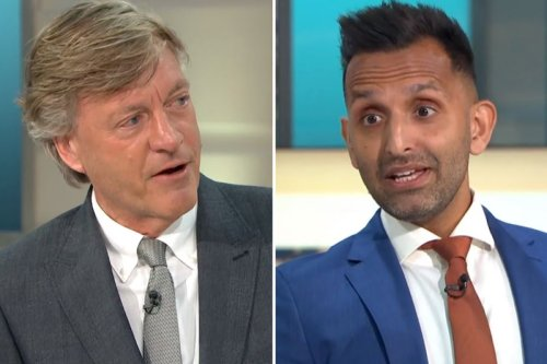 GMB's Richard Madeley slams anti-vaxxers as 'completely illogical'