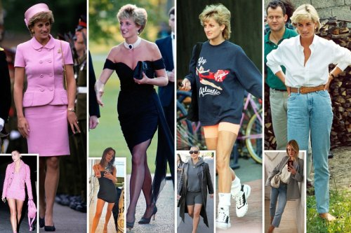 Diana's dress designer on how she transformed 'dowdy' royals into fashion icons