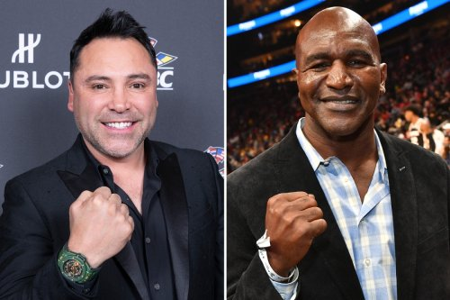 Oscar De La Hoya's return set for September and Evander Holyfield's in August