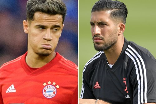 Seven stars whose biggest mistake was quitting Liverpool, including Emre Can and Philippe Coutinho