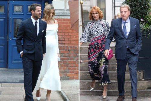 Inside Jamie Redknapp's wedding to pregnant girlfriend Frida