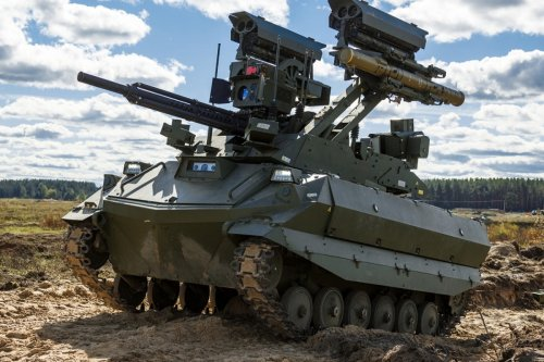 Russia unleashes its 'Terminator' tank & 'missile killer' in war games