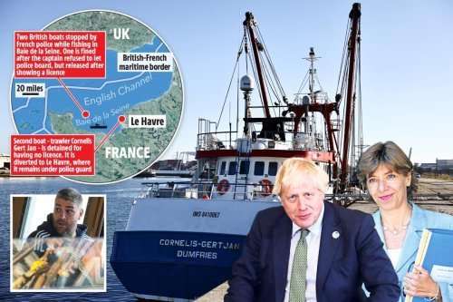 Boris to haul in French ambassador after UK trawler seized in Channel