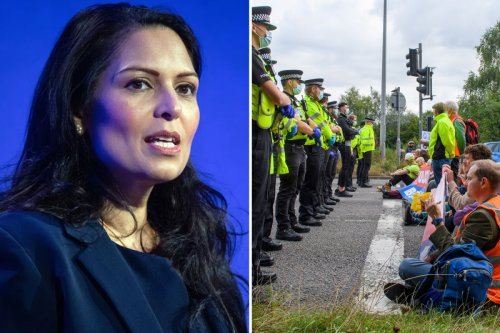 Eco-warriors face JAIL under new government powers to tackle illegal protests