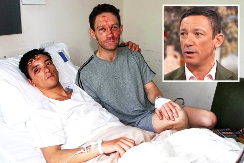 Frankie Dettori moves viewers to tears reliving fatal plane crash that traumatised him for years