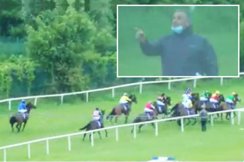 Punter fury at 'shambolic' horse races where stalls malfunction leads to calamitous action from the off at Sligo