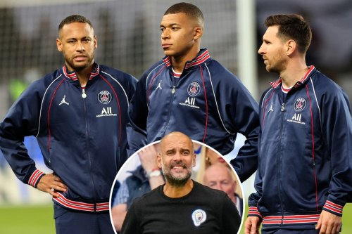 Pep Guardiola admits 'I don't know' how to stop Messi, Mbappe and Neymar