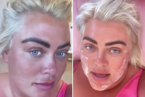 Gemma Collins reveals makeover after having her face deep-cleaned with a tiny vacuum saying 'I feel brand new'