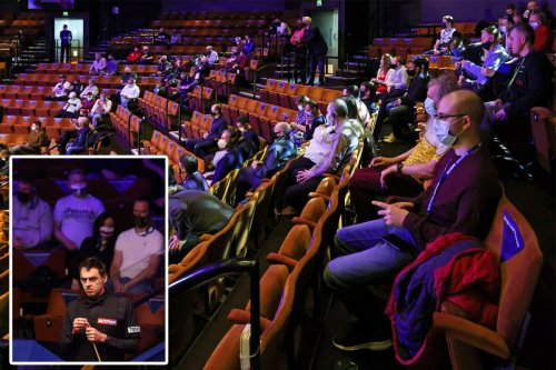Crowds return to UK sporting events as Crucible welcomes spectators to Worlds