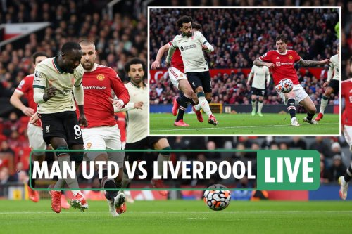 Man Utd vs Liverpool LIVE: Follow all the latest from Super Sunday clash