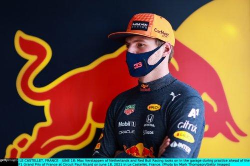 Verstappen fastest in final French GP practice with Hamilton third behind Botta