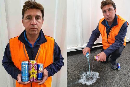 Dad's warning after heart attack from drinking 12 CANS of energy drinks a day