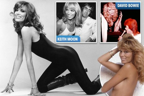 Model who inspired Bryan Ferry and bedded David Bowie tells all in new book