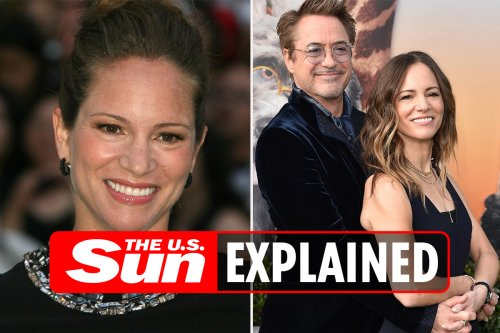 Who is Robert Downey Jr's wife Susan?