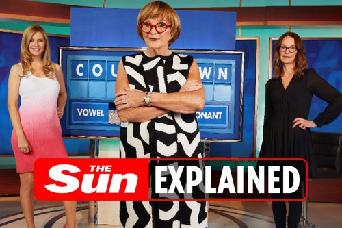 Here's when Anne Robinson will take over as Countdown host