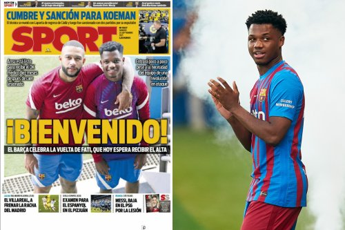Fati set to return for Barcelona against Levante after TEN-MONTH injury hell