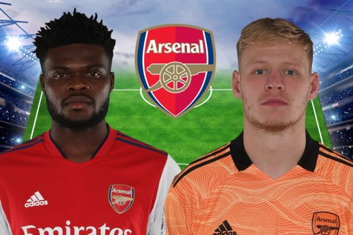 How Arsenal could line up against Burnley with Partey and Ramsdale to start