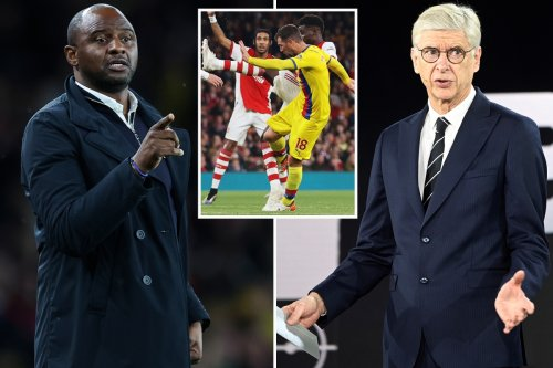 Patrick Vieira channels inner-Wenger by claiming he missed McArthur hack on Saka