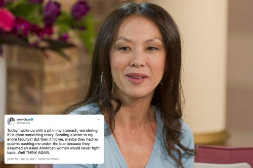 'Tiger Mom' Amy Chua hits out at Yale over claims of 'boozy student parties'