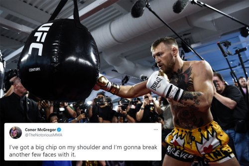 Conor McGregor vows to 'break a few faces' as boxing match is tipped for UFC ace