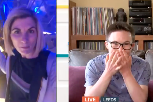 GMB fans in tears at Down's syndrome host reaction to Dr Who star's message