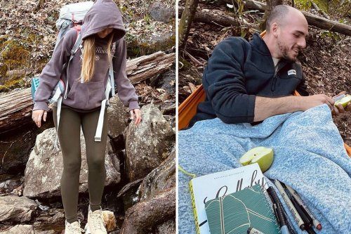 Gabby spent birthday on Appalachian Trail where experts suspect Brian's hiding