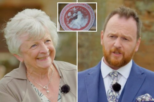 Antiques Roadshow guest's 'unfinished' plate gets eye-watering valuation