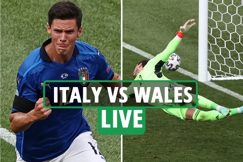 Italy vs Wales LIVE: Latest updates from Euro 2020 match