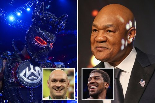 George Foreman writes off Anthony Joshua vs Tyson Fury and defends Deontay Wilder for blaming ring-walk costume for loss