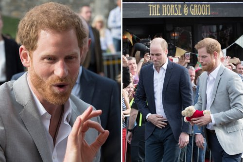Will & Harry 'fought' on eve of wedding & 'weren't speaking' before Aus trip
