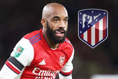 Lacazette 'ready to run down Arsenal contract with Atletico Madrid keeping tabs'