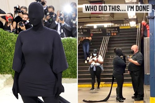 Kim says she's 'DONE' with Met Gala memes as fan pokes fun at bizarre dress