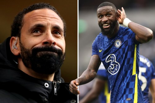 Ferdinand hails Rudiger as best centre-back in Prem - but stats say otherwise