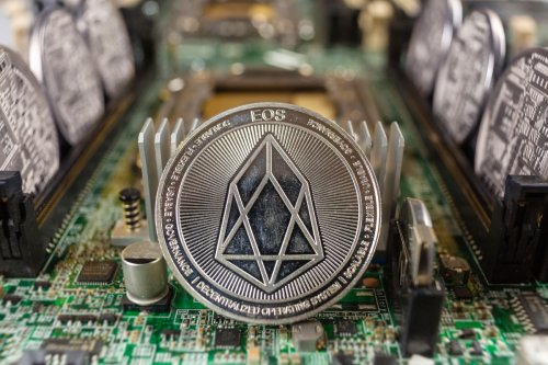 What is EOS and why is the price going up?