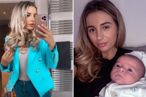 Dani Dyer reveals 'crying & tantrums' as she struggles with post-baby body