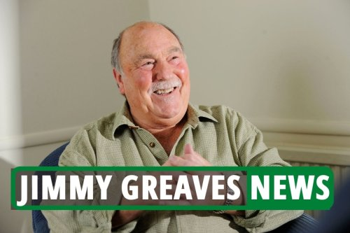 Football legend Jimmy Greaves dies aged 81 after suffering stroke