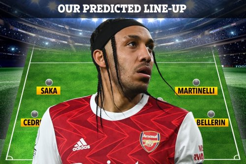 How Arsenal could line up against Slavia Prague for must-win Europa League clash