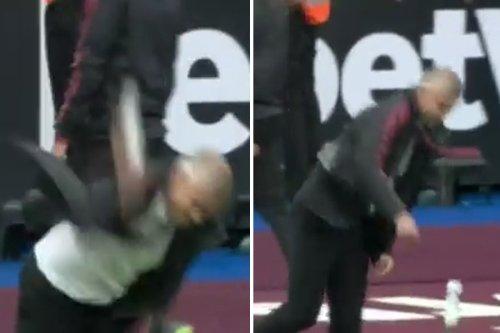 Man Utd fans love Solskjaer channelling his inner Mourinho after slamming bottle