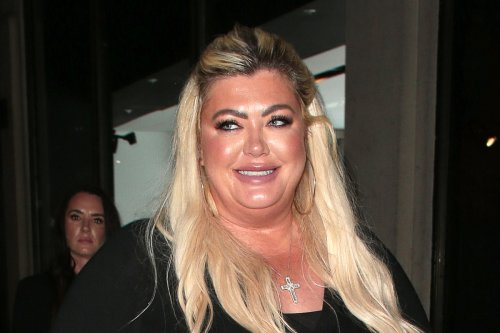 Gemma Collins is doting step-mum as Rami's son, 3, joins them on date night