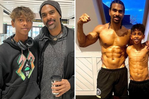 Haye's son Cassius sets off on 'dream' two-week European tennis tour aged 13